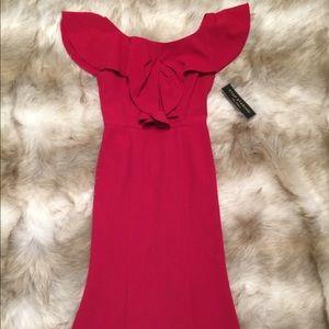 Romantic red dress